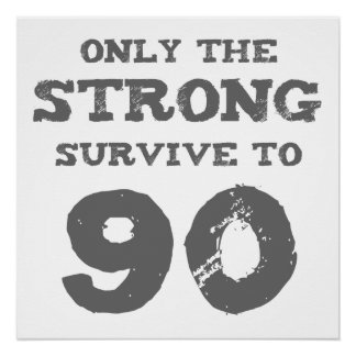 Strong 90th Birthday