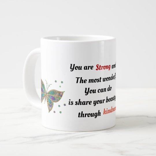 Strong and Beautiful Large Coffee Mug