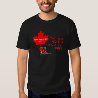 Strong And Free Remembrance Day T-Shirts