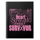 Strong Descriptives Cancer Survivor Notebook