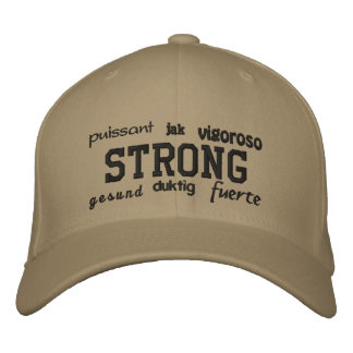 Strong - Embroidered Hat