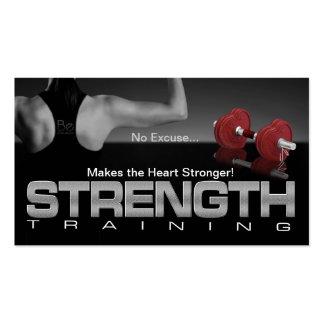 Strong Heart Business Card
