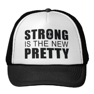 Strong Is The New Pretty Mesh Hat