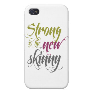 Strong is the New Skinny - Script iPhone 4/4S Case
