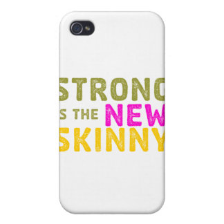 Strong is the New Skinny - Sketch iPhone 4 Covers