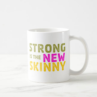 Strong is the New Skinny - Sketch Mugs