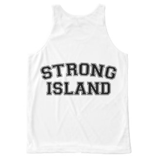 Strong Island, NYC, USA All-Over Print Tank Top