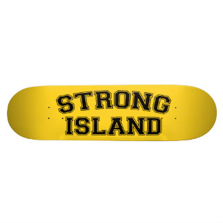 Strong Island, NYC, USA Skateboard Deck