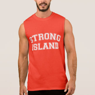 Strong Island, NYC, USA Sleeveless Shirt