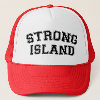 Strong Island, NYC, USA Trucker Hat