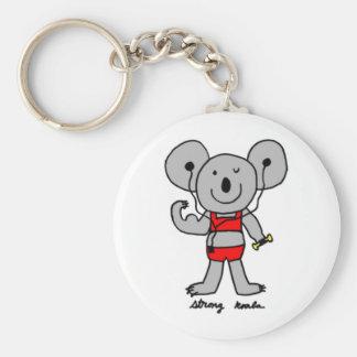 Strong Koala Keychain