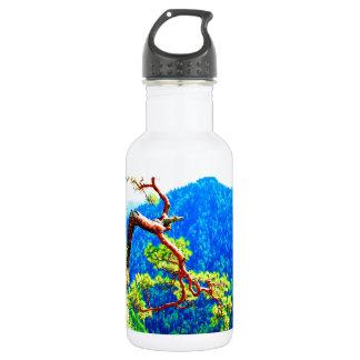 Strong life mountain top tree peek view tatra pola 532 ml water bottle