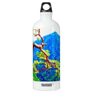 Strong life mountain top tree peek view tatra pola SIGG traveler 1.0L water bottle
