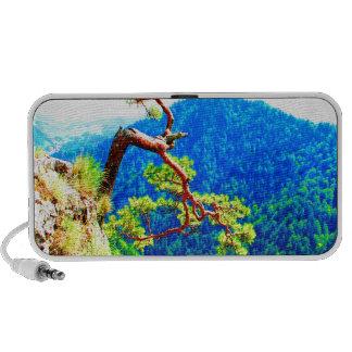 Strong life mountain top tree peek view tatra pola portable speakers