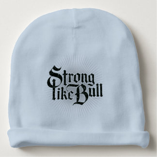 Strong Like Bull Baby Beanie