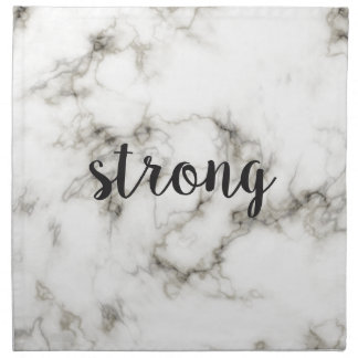 Strong marble napkin