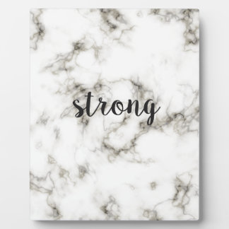 Strong marble plaque