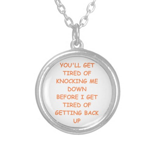 strong custom necklace
