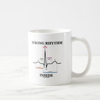 Strong Rhythm Inside (ECG/EKG Heartbeat) Coffee Mug