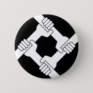 strong together 6 cm round badge