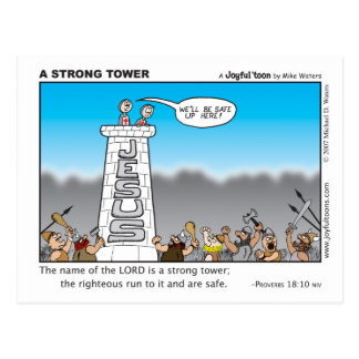 Strong Tower postcard