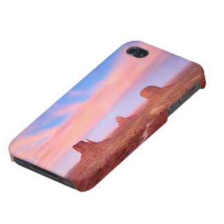 Strong Winds over Desert Valley iPhone 4 Cover