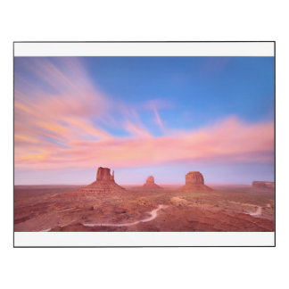 Strong Winds over Desert Valley