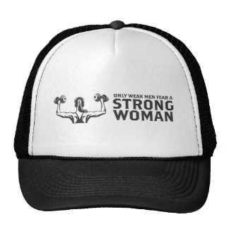 Strong Woman Trucker Hat