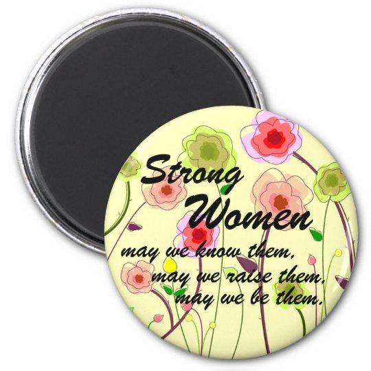 Strong Women Magnet