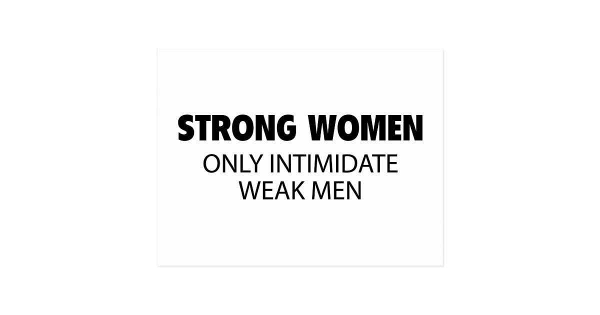 Men seeking strong women