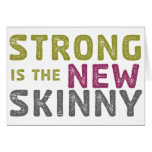 Stronge is the New Skinny - Sketch Greeting Card