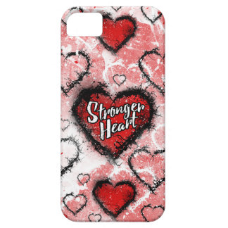 Stronger Heart Barely There iPhone 5 Case