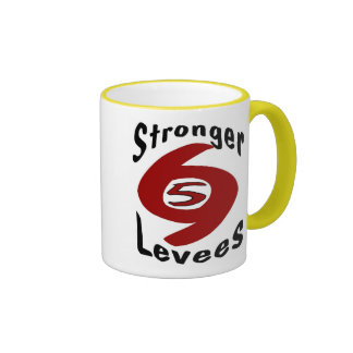Stronger Levees Ringer Mug