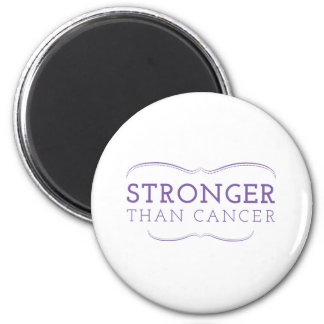 Stronger Than Cancer 2¼ Inch Round Magnet