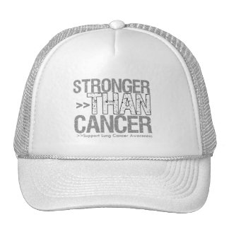 Stronger Than Cancer - Lung Cancer Hat