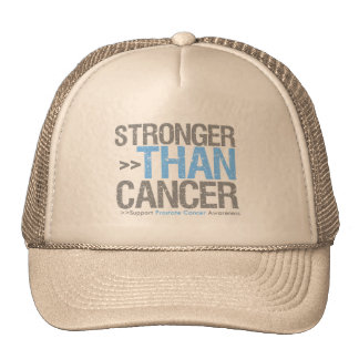 Stronger Than Cancer - Prostate Cancer Trucker Hats