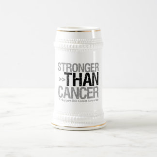 Stronger Than Cancer - Skin Cancer Beer Steins