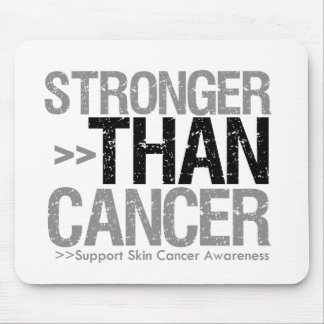 Stronger Than Cancer - Skin Cancer Mousepad