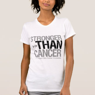 Stronger Than Cancer - Skin Cancer T Shirt
