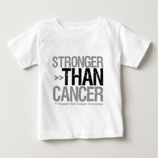 Stronger Than Cancer - Skin Cancer T-shirt