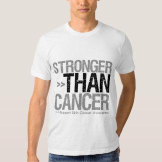 Stronger Than Cancer - Skin Cancer T-shirts