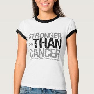 Stronger Than Cancer - Skin Cancer T Shirts