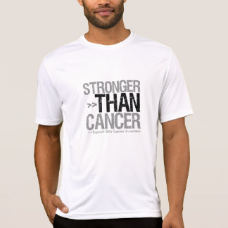 Stronger Than Cancer - Skin Cancer T-shirts