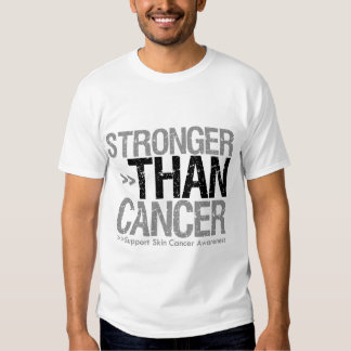Stronger Than Cancer - Skin Cancer Tee Shirts