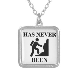 STRONGER THAN EVER SILVER PLATED NECKLACE
