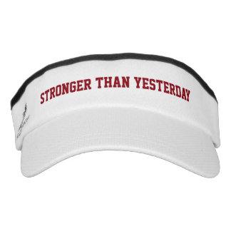 Stronger than Yesterday Sun Visor
