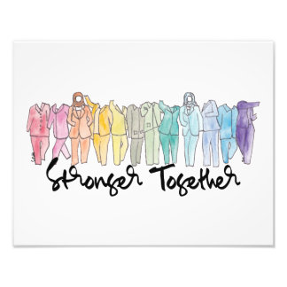 Stronger Together Art Print Art Photo