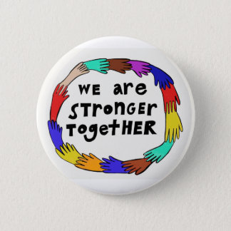 Stronger Together Button