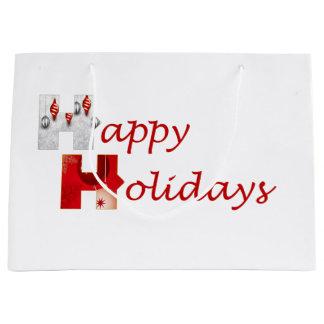 Stronger Together Happy Holidays Gift Bag