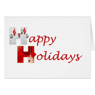 Stronger Together Happy Holidays Greeting Card